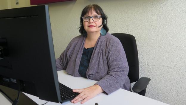 Sabine Lehn vom Zürcher Ärztefon hatte viel zu tun über die letzten Tage.
