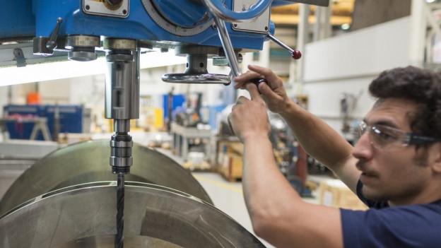 Wieder mehr Jobs in Industrie