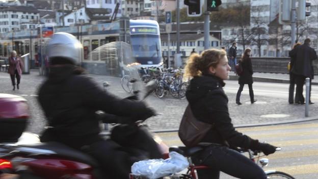 Die Velopolitik in der Stadt Zürich ist umstritten