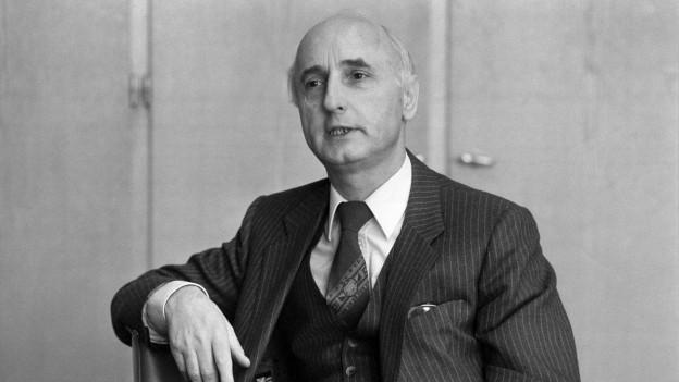 Portrait des Zürcher Alt-Regierungsrats Alfred Gilgen.