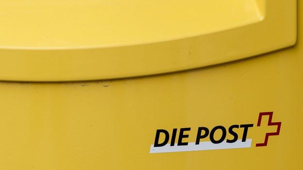 Briefkasten der Schweizer Post