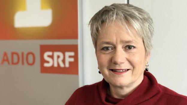 Portrait der Zürcher Regierungsrätin Jacqueline Fehr.
