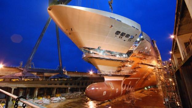 GF-Systeme auch in Schiffen