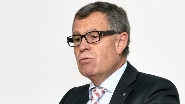 Der Zürcher Finanzdirektor Ernst Stocker ist zufrieden mit seiner Rechnung
