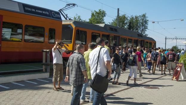 Statt der Bahn fährt vorübergehend ein Bus auf den Uetliberg