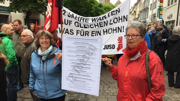 1. Mai-Umzug in Schaffhausen