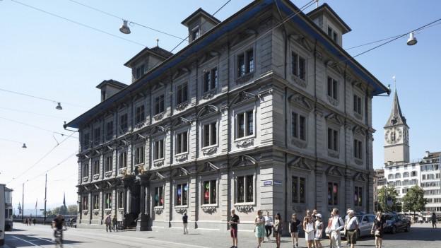 Das Zürcher Rathaus, wo die Parlamente von Stadt und Kanton tagen.