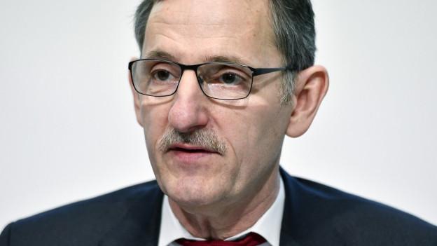 Portrait des Zürcher SP-Regierungsrats Mario Fehr.