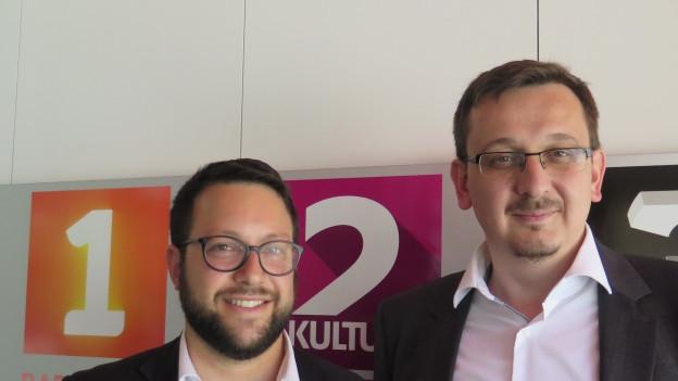 Rabbiner Noam Hertig und Imam Muris Begovic