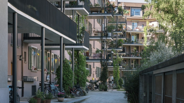 Wohnungen in der Stadt Zürich.