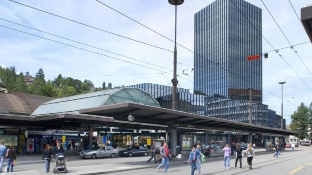 Das Rathaus in St.Gallen