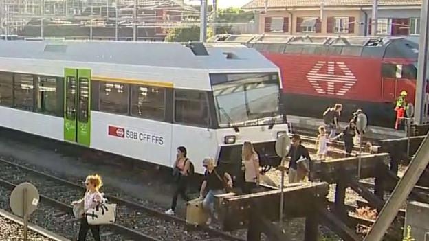 Nach dem Unfall eines Güterzugs steht weiterhin fast alles still.