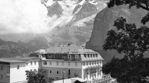 Das Hotel Palace in Mürren.