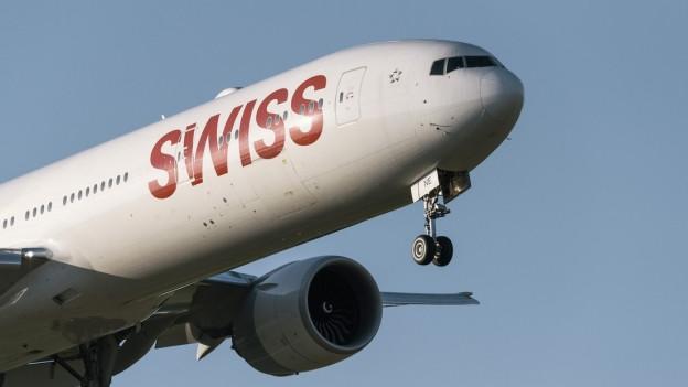 Eine Boeing 777 der Swiss (Symbolbild)