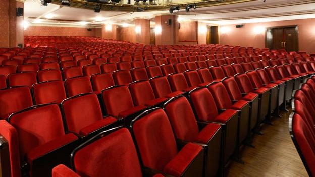 Historischer Theatersaal im Schauspielhaus Zürich