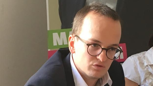 Portrait des Grünen Regierungsratskandidaten Martin Neukom.