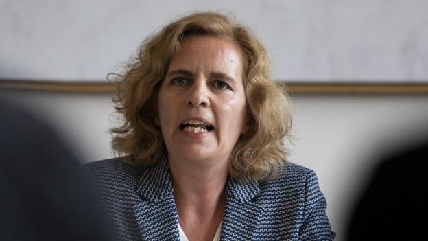 Zürichs Sicherheitsvorsteherin Karin Rykart