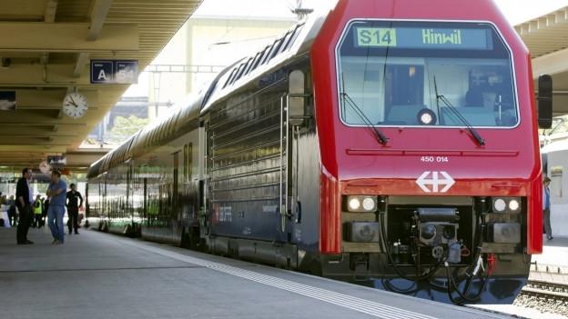 Eine S-Bahn.
