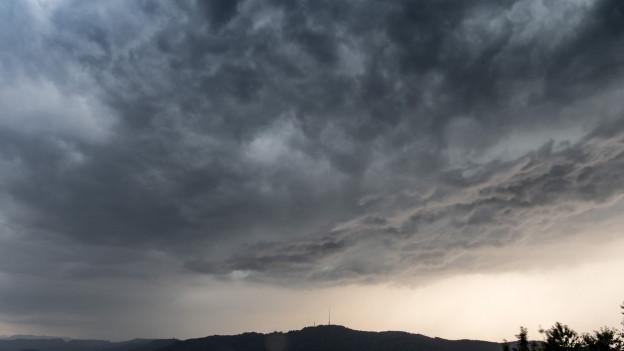 Sturmwolken über Zürich