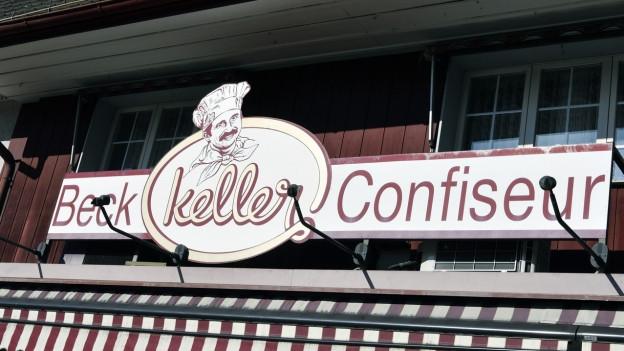 Das Firmenlogo der Bäckerei.