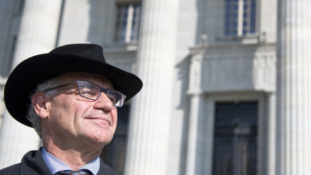 Rudolf Elmer, ehemaliger Angestellter der Bank Julius Bär