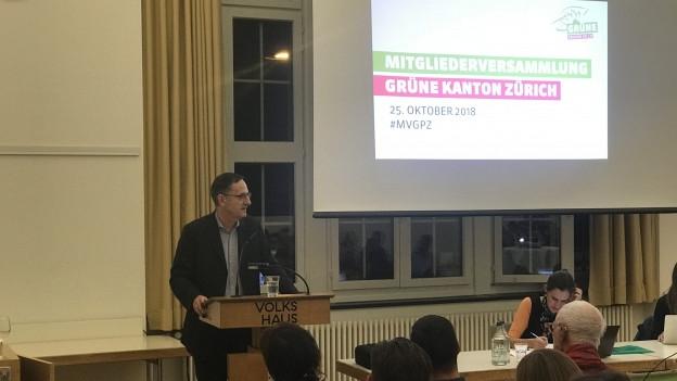 Mario Fehr wird von den Grünen nicht unterstützt.