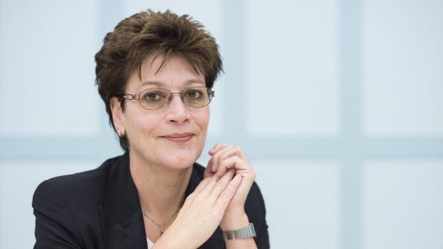 Die Zürcher Bildungsdirektorin Silvia Steiner