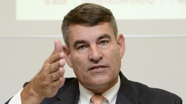 Portrait von Schaffhausens Regierungsrat Christian Amsler.