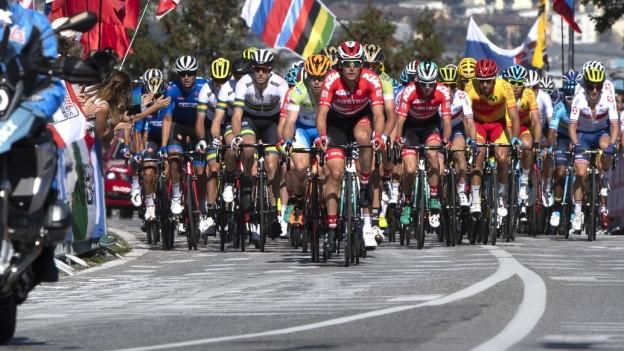 Etappe Rad-WM 2018 in Innsbruck