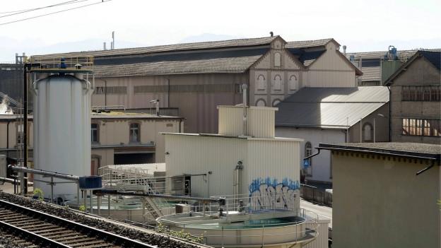 Gebäude einer stillgelegten Fabrik