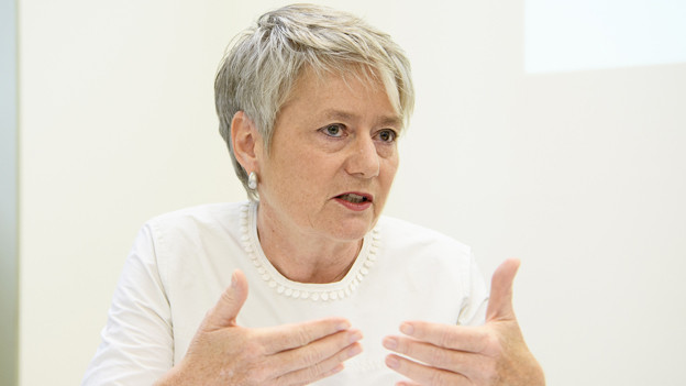 Zürcher Justizdirektorin Jacqueline Fehr (SP)