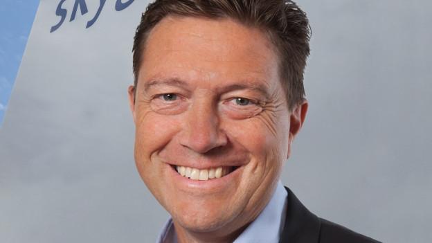 Portrait von Urs Lauener von der Flugsicherung Skyguide