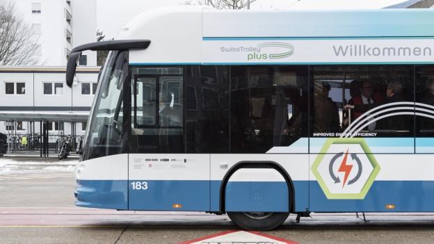 Neuer Bus mit neuer Heizung