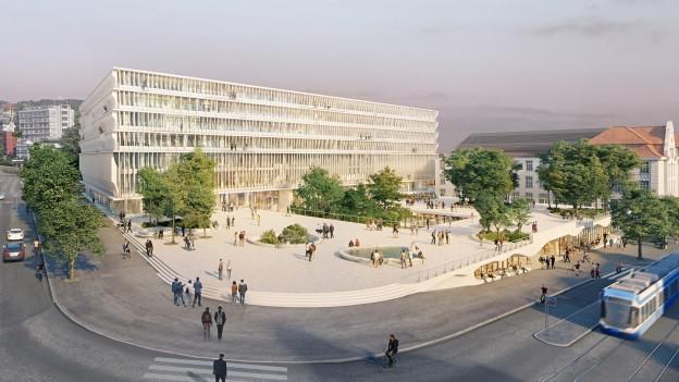 Neues Bildungs- und Forschungszentrum