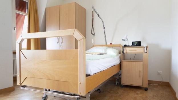 Der Kanton Schaffhausen will zwei Betten für Sterbenskranke