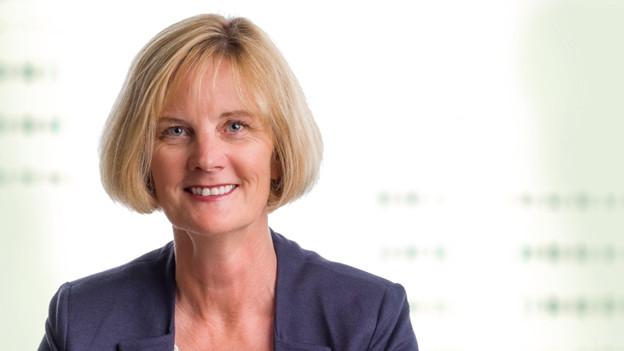 Portrait der Schaffhauser glp-Politikerin Regula Widmer.