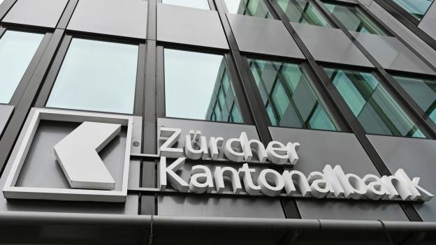 Gebäude der ZKB in Zürich