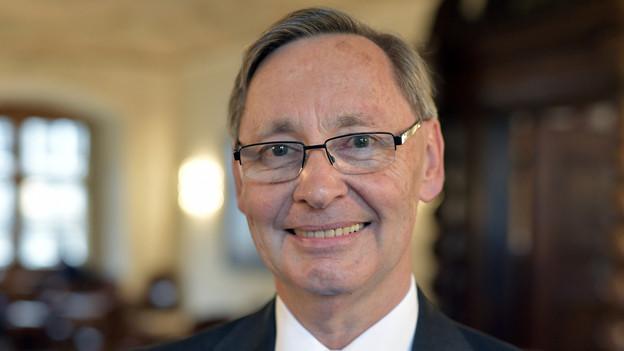 Portrait von SVP-Gemeinderat Heinz Schatt.