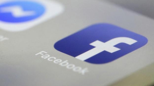 Das Facebook-Logo.
