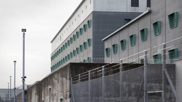 Das Flughafengefängnis in Zürich-Kloten.