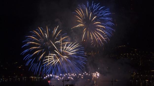 Auch 2019 bildet das Feuerwerk den Höhepunkt des Volksfestes.