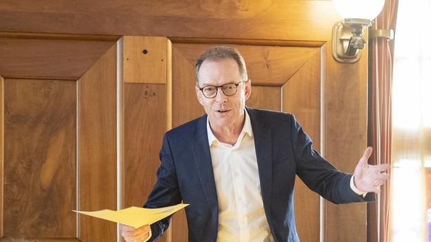 Finanzvorsteher Daniel Leupi