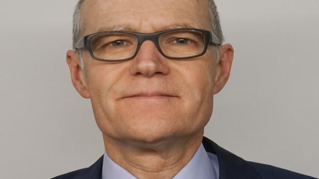 Portrait des ERZ-Direktors Daniel Aebli