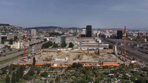 Die ZSC Lions bauen in Zürich-Altstetten ihr neues Stadion.
