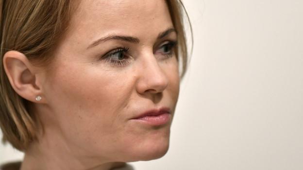 Portrait von SVP-Gesundheitsdirektorin Natalie Rickli