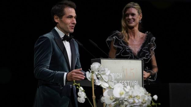 Das Gründer-Duo des ZFF Nadja Schildknecht und Karl Spörri verabschieden sich mit neuem Zuschauerrekord.