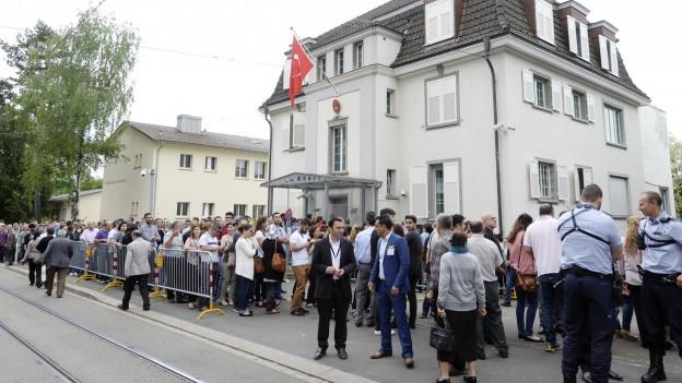 Türkisches Konsulat in Zürich