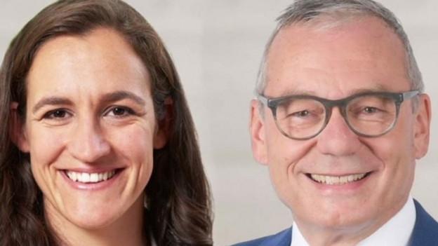 Marionna Schlatter und Ruedi Noser wollen in den Ständerat