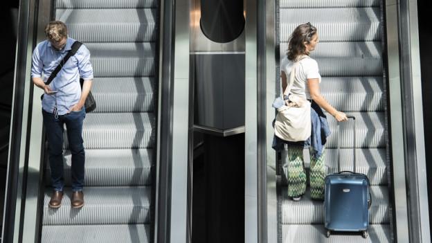 Im Oktober sind weniger Passagiere über den Flughafen Zürich geflogen.