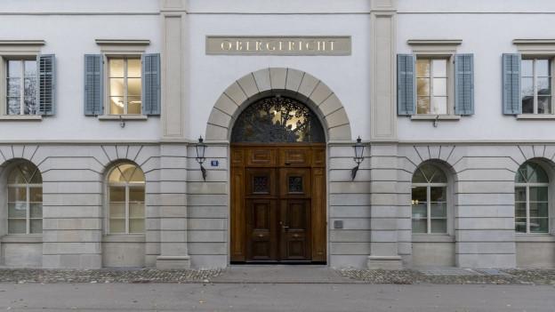 Eingang Zürcher Obergericht